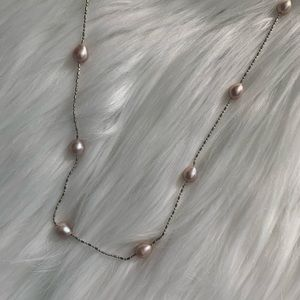 Boutique Jewelry - NEW Pink freshwater small pearls necklace